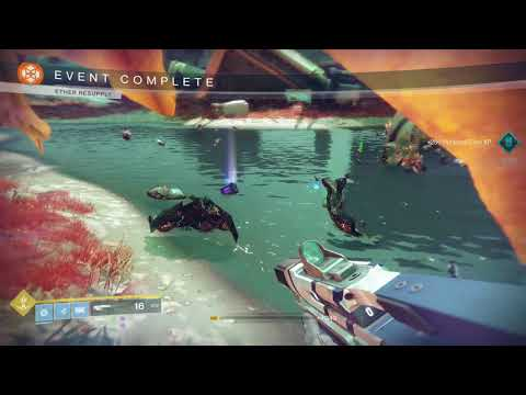 Destiny 2 PvE - shoulder charge the loot