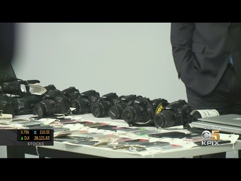 Christie James - SFPD Recover $2 Million In Stolen Goods...Is It Yours?