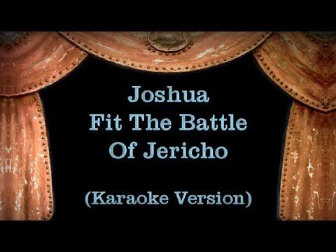 Joshua Fit The Battle Of Jericho - Lyrics (Karaoke Version)