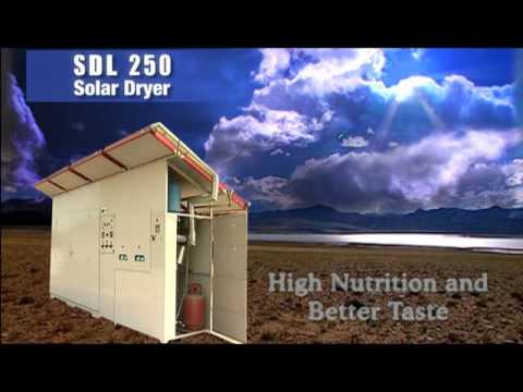 ICAR-CIFT Solar Quality Dry Fish Through Solar Dryer