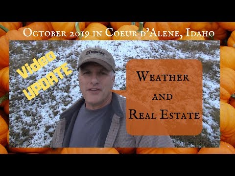 Coeur D'Alene, Idaho Weather And Real Estate Review