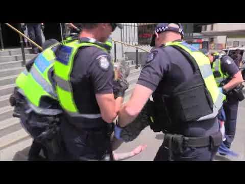 Arrested for Celebrating Australia Day in Melbourne full.