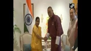 India News - Bhutanese Prime Minister meets Indian counterpart in New Delhi to boost ties