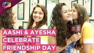 Aashi Singh And Ayesha Kaduskar Celebrate Friendship Day With India Forums | Exclusive