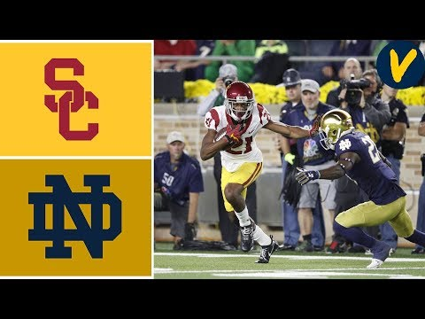 USC vs #9 Notre Dame | Week 7 | College Football Highlights | 2019