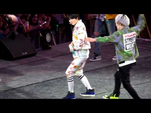 [Fancam] 140406 SHINee in Chile - 3 2 1