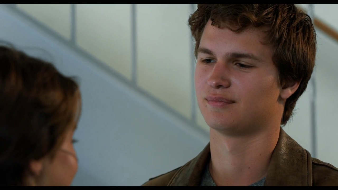The Fault in Our Stars Hazel And Augustus Meeting Scene ...