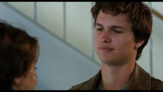 The Fault in Our Stars Hazel And Augustus  Meeting Scene