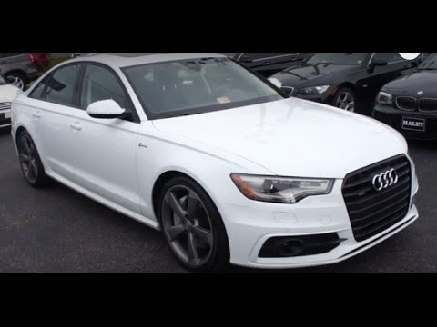 2014 Audi A6 3.0T Prestige Walkaround, Start up, Tour and Overview