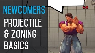 Newcomer Lessons - Projectile & Zoning Basics (60fps)