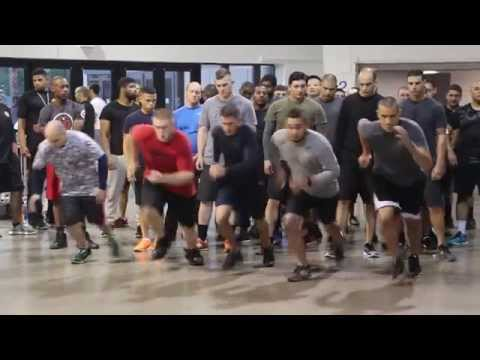 LVMPD Police Recruit Fitness Test