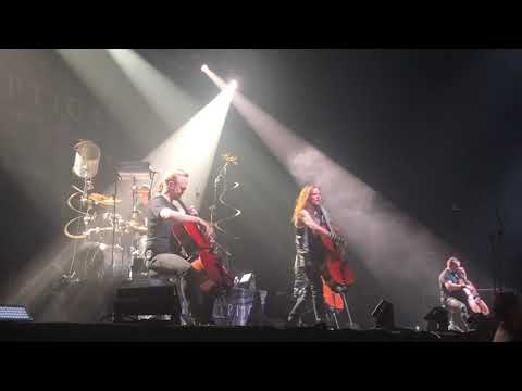 Apocalyptica-Nothing Else Matters[live] Volkswagen Arena İstanbul 26.10.19