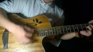 Guitar cover ĐỪNG YÊU LẠI NGƯỜI CŨ- Bùi Caroon
