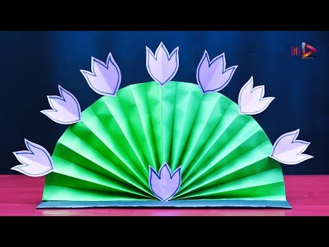 Easy Water Lily Flower Tutorial | HomeMade Art and Crafts Idea | DIY Paper Kids Craft