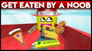 Get eaten by a Noob | Roblox