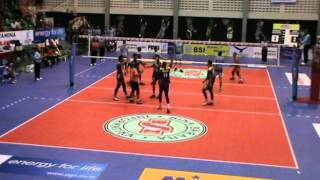 Proliga Indonesia 2014 Set 1 Samator vs Electric