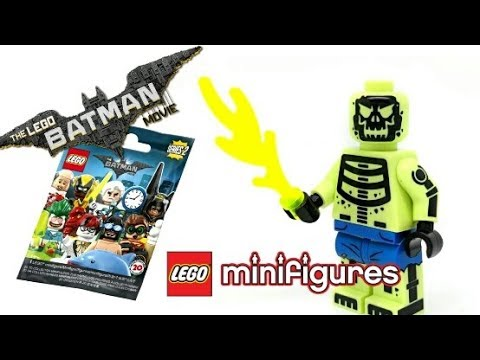 LEGO® Minifig Batman Movie Series 2-71020 No 18 Doctor Phosphorus