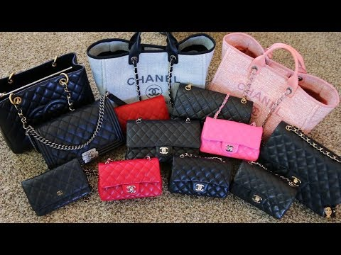 CHANEL HANDBAG COLLECTION | RANKED: MOST TO LEAST USED | Minks4All