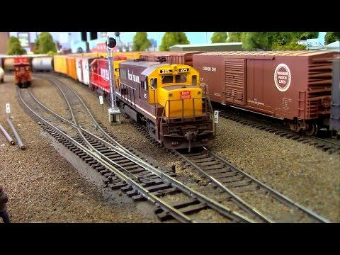 HO Scale OPS: Rock Island Switching