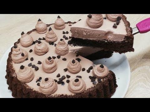 gÂteau-magique-et-crÉmeux-a-la-mousse-au-chocolat-facile-(cuisine-rapide)