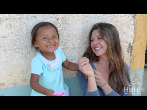 Danielle Campbell  Visits Heifer Projects in Guatemala