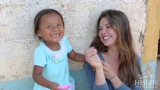 Danielle Campbell - Visits Heifer Projects in Guatemala