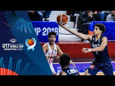 Philippines v France - Condensed Game - FIBA U17 Basketball World Cup 2018