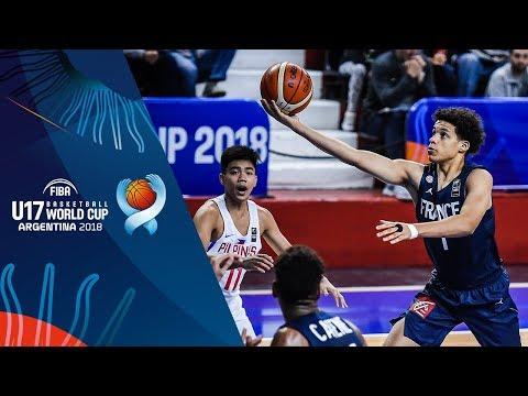 HIGHLIGHTS: Batang Gilas vs. France (VIDEO) 2018 FIBA U17 Basketball World Cup