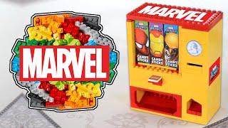 LEGO MARVEL Candy Sticks Candy Machine
