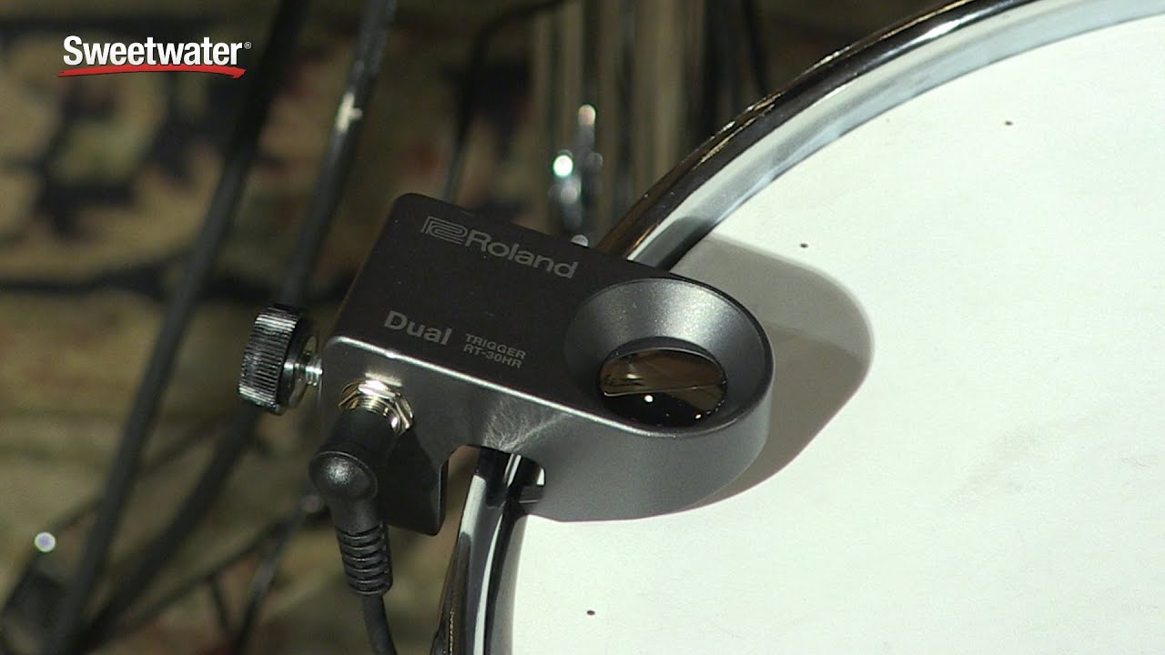 roland rt 30 series drum triggers demo by sweetwater sound youtube. Black Bedroom Furniture Sets. Home Design Ideas