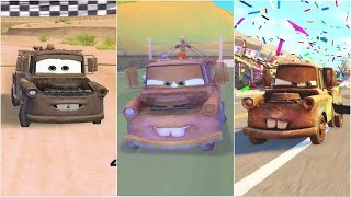 Video Cars 1 - Cars 2 - Cars 3 Mater Gameplay Compilation HD download MP3, 3GP, MP4, WEBM, AVI, FLV Agustus 2018