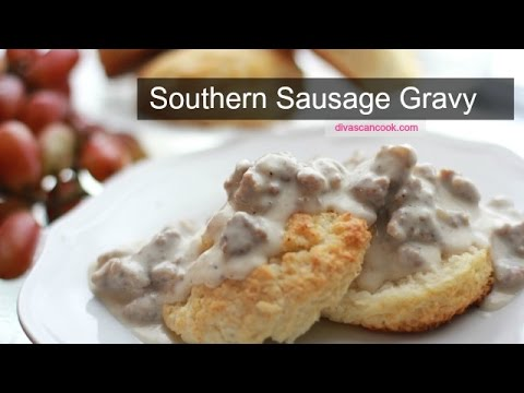 Southern Sausage Gravy ~ Pass The Biscuits! - YouTube