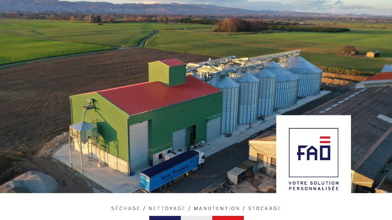 Une des plus imposantes réalisations de FAO, voici le chantier finalisé.