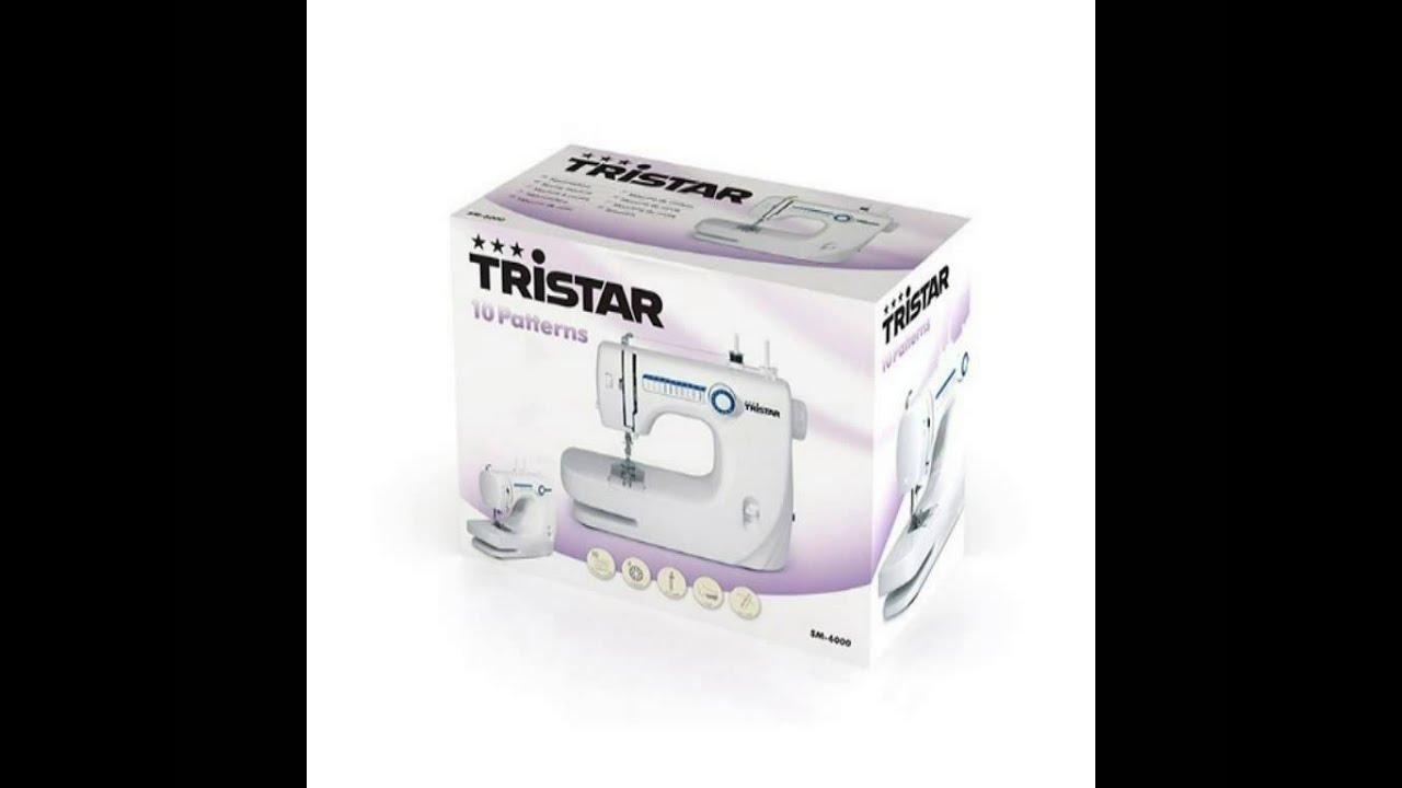 Máquina de Coser 10 Patrones | Tristar SM6000 en TopBarato.com - YouTube