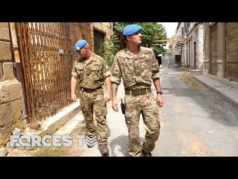 The British Troops Peacekeeping In Cyprus   Forces TV