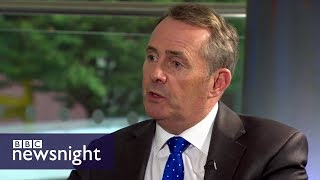 What will happen to trade post-Brexit? Evan Davis asks Liam Fox – BBC Newsnight