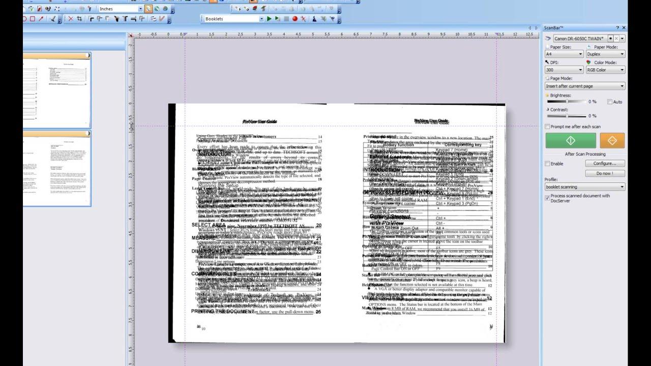 26 Multipage margin cleanup of scanned images (pdf, tiff ...