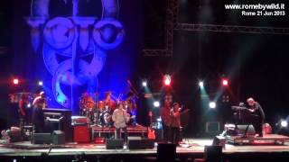 """Toto - """"How Many Times"""" @ Rock in Roma - Ippodromo Capannelle"""