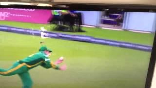 Elgar catch England 2012 odi