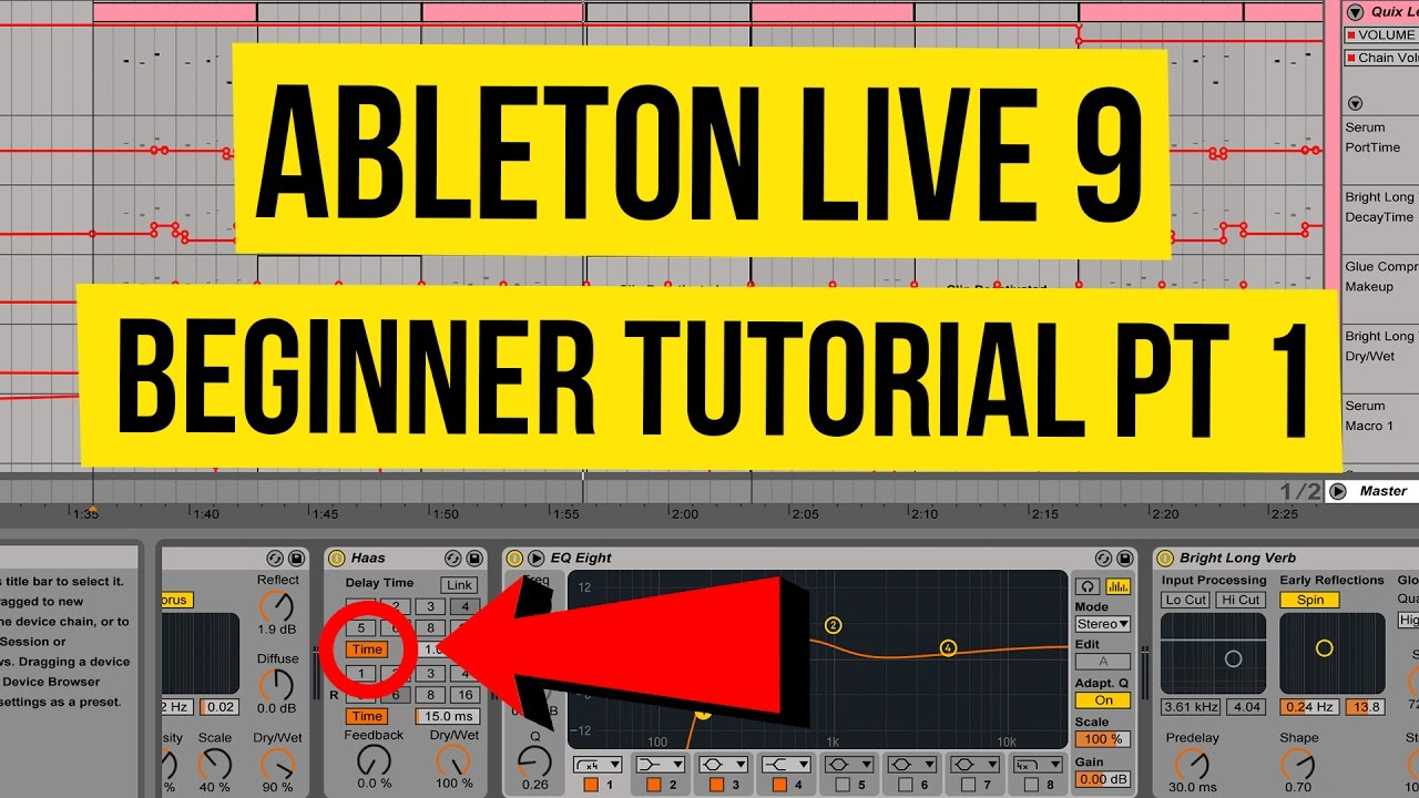 ableton live 9 beginner tutorial pt 1 - full overview & optimization