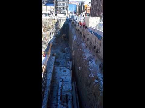 Concrete pour hfx nova center.