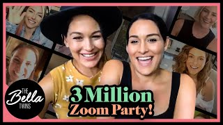3 MILLION SUBSCRIBERS ZOOM CELEBRATION with WWE SUPERSTARS!