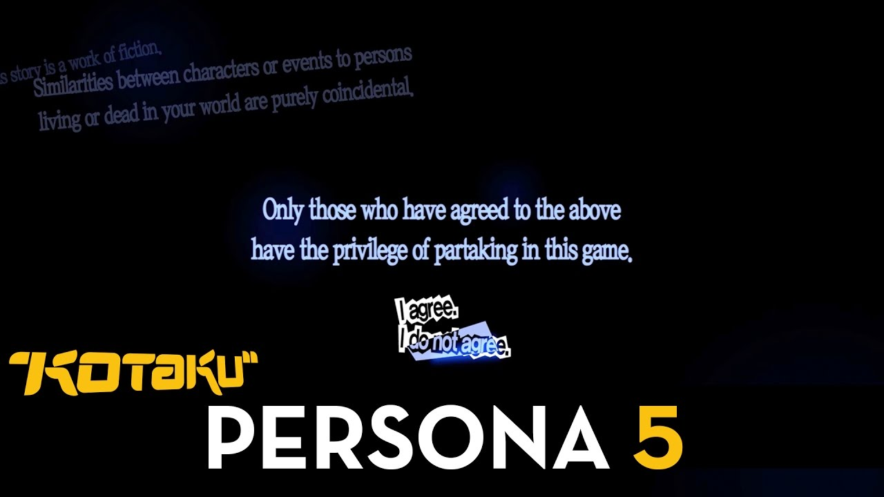 What Happens If You Say No At The Beginning Of Persona 5
