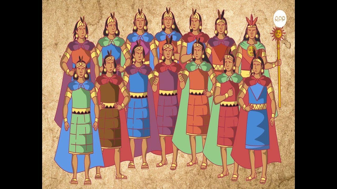 Los Hijos Del Sol Los 14 Incas Del Tahuantinsuyo Youtube