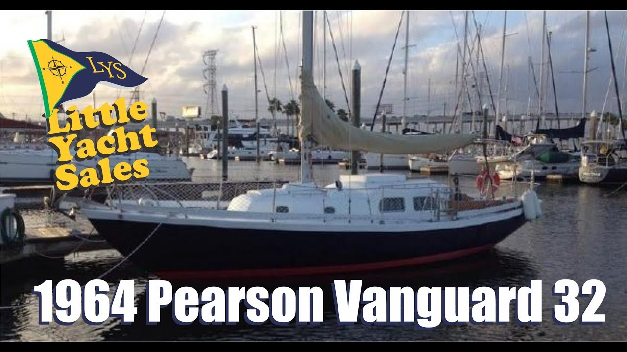 1964 Pearson Vanguard Sailboat for sale at Little Yacht Sales, Kemah ...