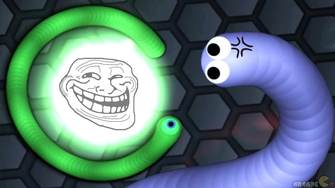 Slither Io Troll