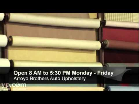 Arroyo Brothers Auto Upholstery National City Ca Youtube