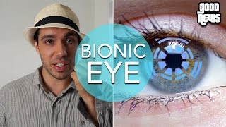SUPER VISION w/ Bionic Contact Lens!