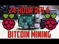 Bitcoin Mining Rig - 24 Machine Setup - 48Gh - YouTube
