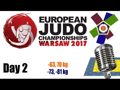 European Judo Championships Warsaw 2017: Day 2